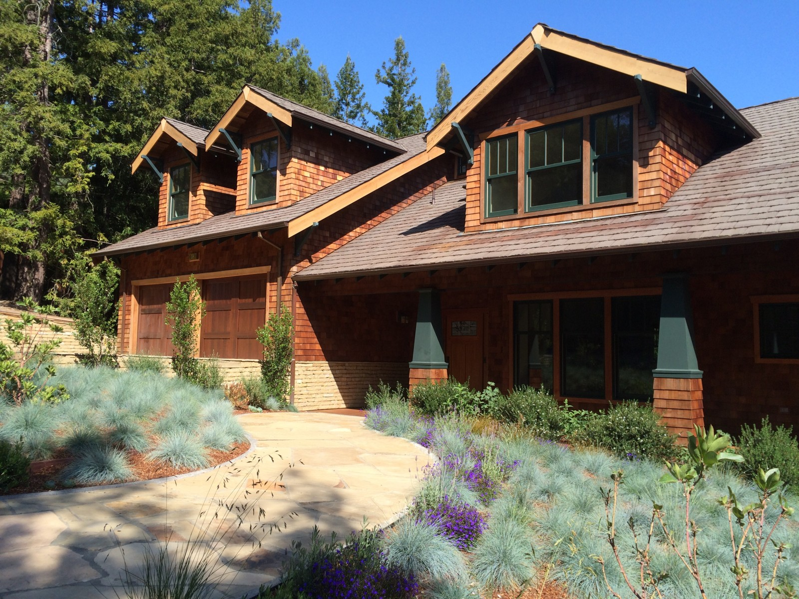 Traditional Craftsman, Lone Tree Residential Design, Anthony M. Richards, Mill Valley Blithedale Canyon